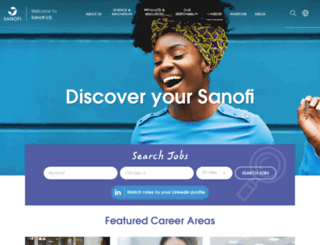 jobs.sanofi.us screenshot