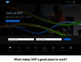 jobs.sap.com screenshot