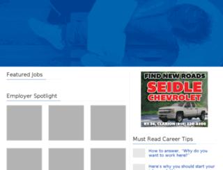 jobs.thecourierexpress.com screenshot