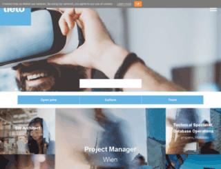 jobs.tieto.com screenshot