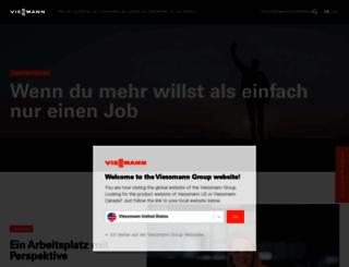 jobs.viessmann.de screenshot