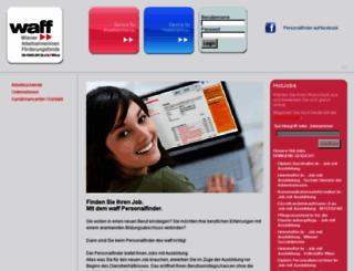 jobs.waff.at screenshot
