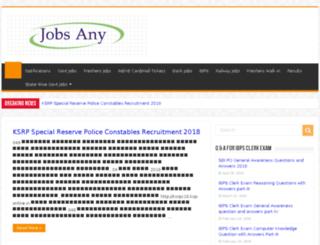 jobsany.in screenshot