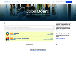 jobsboard.neptunescripts.com screenshot