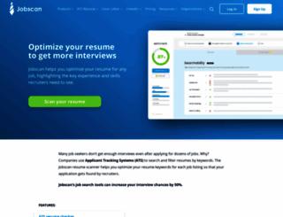 jobscan.co screenshot