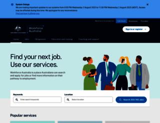 jobsearch.gov.au screenshot
