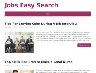 jobseasysearch.in screenshot