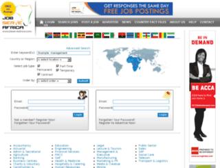 jobserveafrica.com screenshot