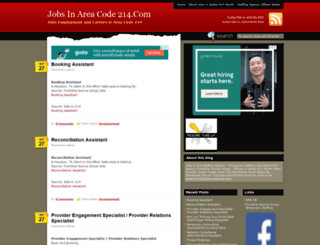 jobsin214.com screenshot