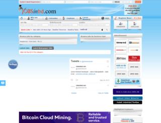jobsinbd.com screenshot