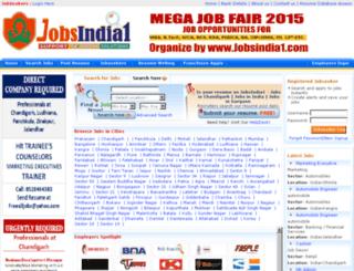 jobsindia1.com screenshot