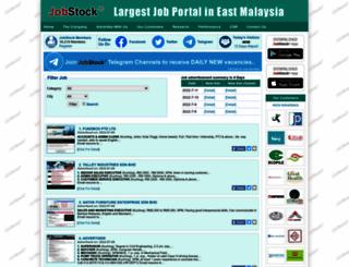 jobstock.com.my screenshot