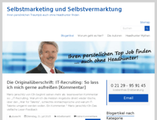 jobsuchercoach.de screenshot
