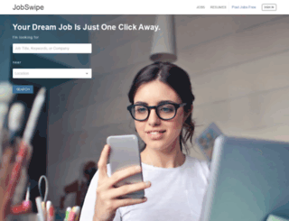 jobswipe.co screenshot