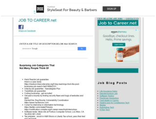 jobtocareer.net screenshot