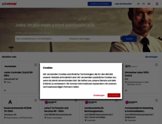 jobwinner.ch screenshot