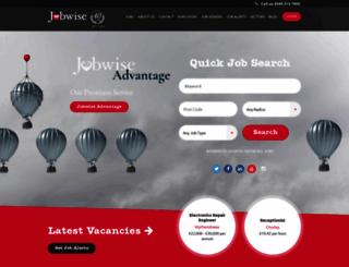 jobwise.co.uk screenshot