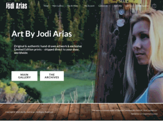 jodiarias.com screenshot