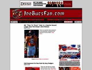 joebucsfan.com screenshot