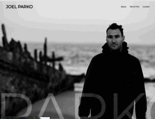 joelparko.com screenshot