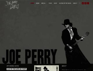 joeperry.com screenshot
