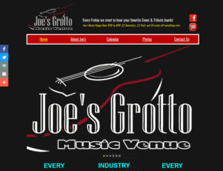 joesgrotto.com screenshot