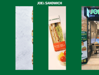 joessandwich.com screenshot