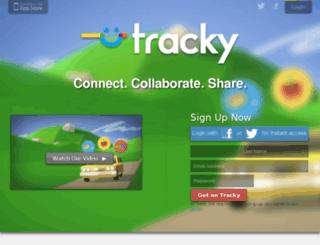 joey.tracky.com screenshot