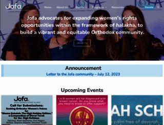 jofa.org screenshot