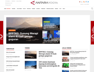 jogja.antaranews.com screenshot