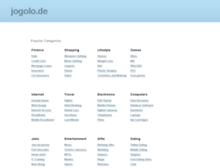 jogolo.de screenshot