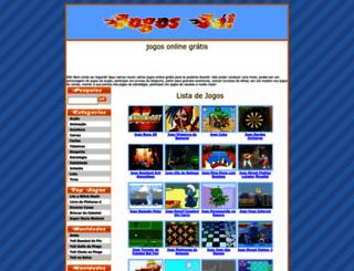 jogosdopokemon.jogosja.com screenshot