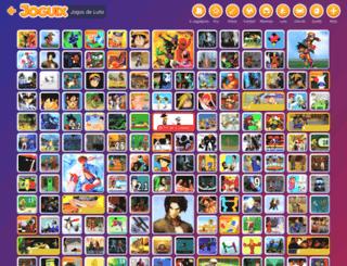 jogoslutas.com.br screenshot