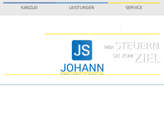 johann-steuerberater.de screenshot