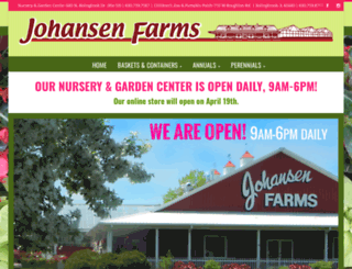 johansenfarmszoo.com screenshot