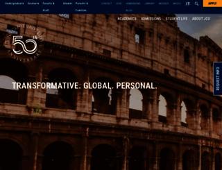 johncabot.edu screenshot