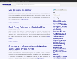 johncross.com.ar screenshot