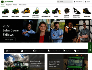 johndeere.com screenshot