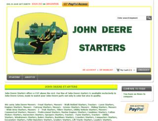 johndeerestarters.us screenshot