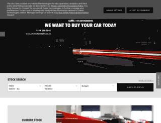 johnhollandsales.co.uk screenshot