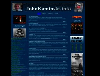 johnkaminski.info screenshot