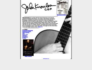 johnknowles.com screenshot