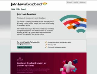 johnlewisbroadband.com screenshot