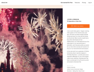 johnlomaga.com screenshot