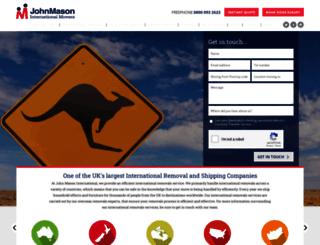 johnmason.com screenshot