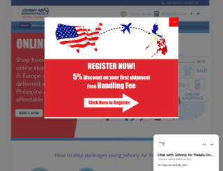 johnnyairpadala.com screenshot