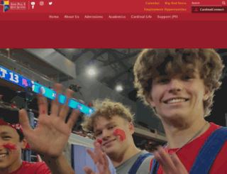 johnpauliihs.org screenshot