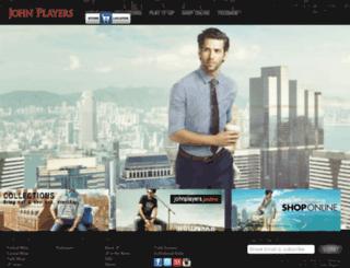 johnplayers.com screenshot