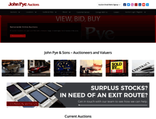 johnpye.co.uk screenshot