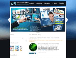 johnromano.com screenshot
